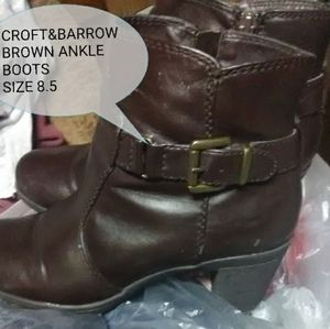 Croft&Barrow ankle boots